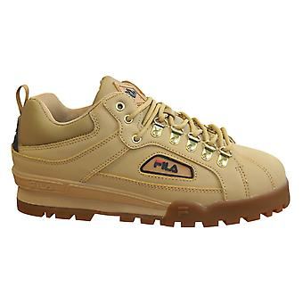 Fila Trailblazer L Low Chunky Mens Trainers Leather Lace Up Shoes 1010705 EDU