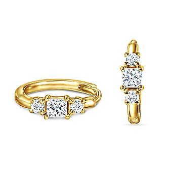 Earrings Beloved Clipper 18K Gold and Diamonds