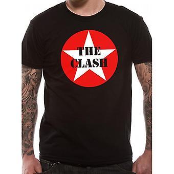 The Clash Unisex Adults Star Badge Print T-Shirt