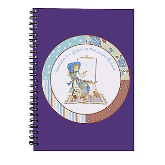Holly Hobbie Venlighed er en særlig kunst Spiral Notebook