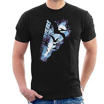 Jurassic Park Pteranodon bekommen Innen bekommen Abdeckung Männer's T-Shirt
