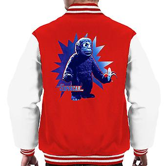 Supercar Mitch The Monkey With Banana Men's Varsity Jacket