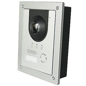 Wire Ip Metal Villa deurbel, deur telefoon, IP Video Intercom, Call To Phone App