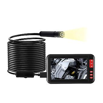 Hd Industrial Inspection Camera Built-in Leds 8mm Lens Ip67 Waterproof Usb