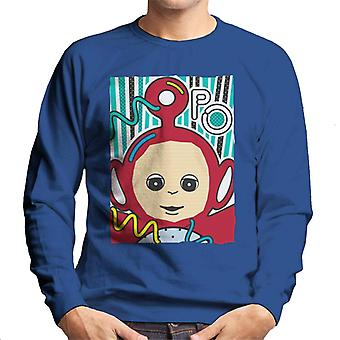 Teletubbies Po The Fourth Teletubby Men's Sweatshirt
