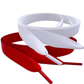 Strawberries & Cream Ribbon Shoelaces Set Laces