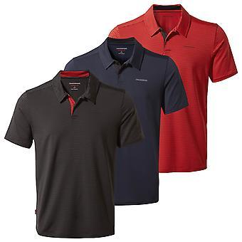 Craghoppers Mens 2021 NL Pro Kortärmad Lätt Wicking Polo Shirt