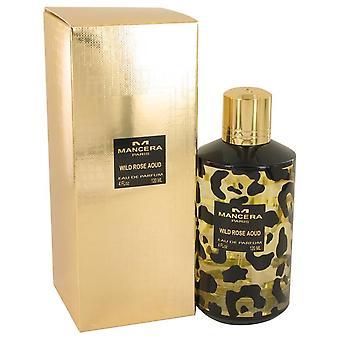 Mancera Wild Rose Aoud Eau De Parfum Spray (Unisex) por Mancera 4 oz Eau De Parfum Spray