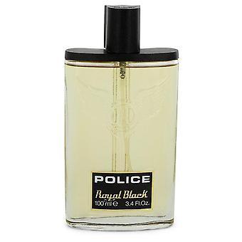 Police Royal Black Eau De Toilette Spray (Tester) By Police Colognes 3.4 oz Eau De Toilette Spray