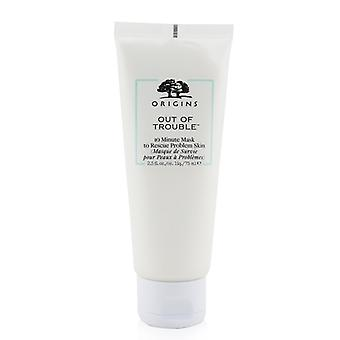 Origins Out Of Trouble 10 Minute Mask To Rescue Problem Skin 75ml/2.5oz