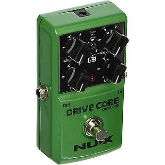 Nux drive core deluxe electric guitar overdrive effects pedal mixture of booster powerful and warm