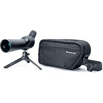 Vesta spotting scope kits include spotting scope, tabletop tripod, and padded carrying bag ps30727