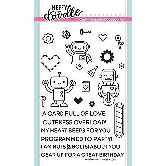 Heffy Doodle Bots of Love Timbres clairs