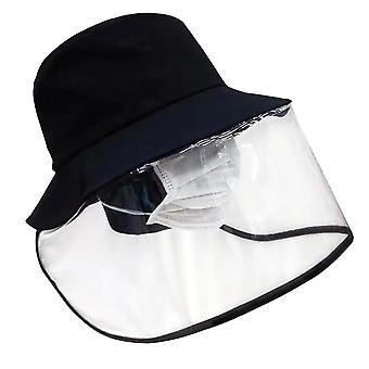 Infektiontorjunta ja monitoiminen suojahattu ja silmien suojaus sumunestut