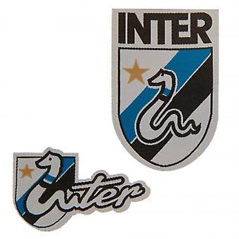 Inter Milan Twin Patch Set RT