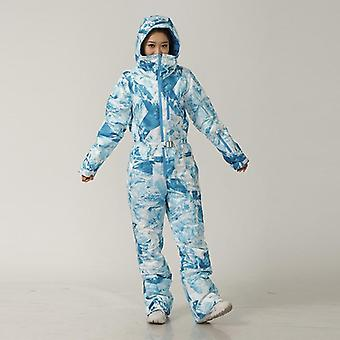 Winter Ski Jumpsuit Women Waterproof Overalls Ski Clothes