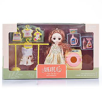 Gift Children's Toy Doll Set Doll Dress Up Play House Gift Box