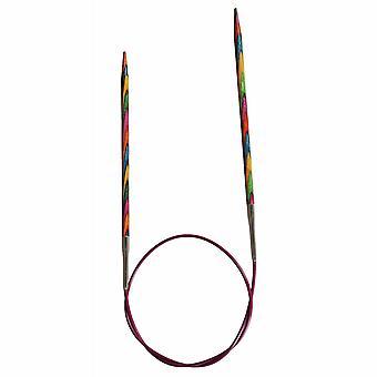 KnitPro Symfonie: Strikkepinner: Sirkulær: Fast: 50cm x 2.25mm