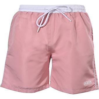 BOSS Starfish Swim Shorts, Rosa Scuro