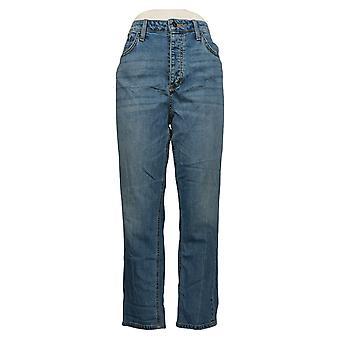 Sam Edelman Women's Jeans The Mary Jane Boyfriend Jeans Blue A448966