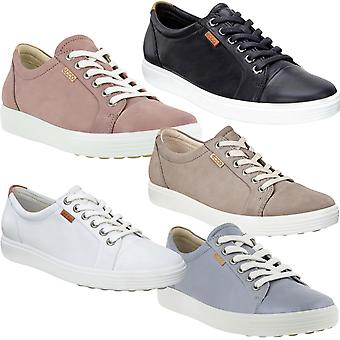 Ecco Womens Soft 7 Leather Casual Fashion Pumps Trainers