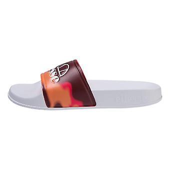 Ellesse Women's Filippo Sunwash Slides - Red / White