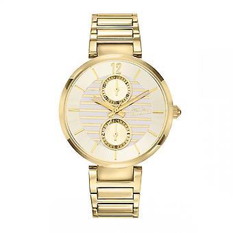 Jean Paul Gaultier dameklokke - 8507206 - Gull stål armbånd