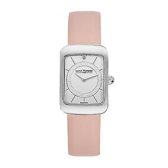 Women's Watch Saint Honor 7210591APAD - Pink Leather Strap