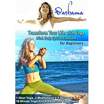 Transform Your Life with Yoga for Beginners [DVD] USA import