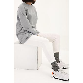 Zippered Pocket Detailed Sweatshirt Tunic