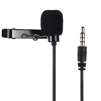 Lavalier Microphone Omni-directional Clip-on Mic