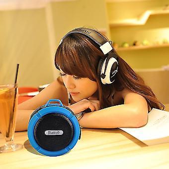 vanntett utendørs trådløs Bluetooth høyttaler C6 datamaskin mobiltelefon høyttaler