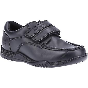 Hush Puppies Boys Hayden Leather School Shoes