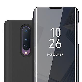 Fodral för OnePlus 8 vikbart telefonhölje - lock - med stativfunktion och kortfack