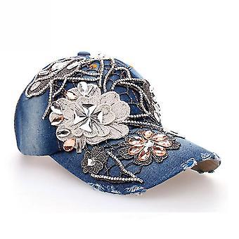 Farmer baseball sapka gyémánt hímzés nők állítható snapback kalap