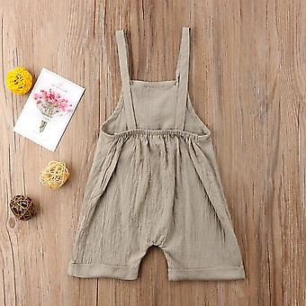 Sleeveless Kid''s Jumpsuit- Overalls For Baby