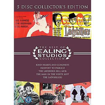 Det bästa med Ealing Studios Collection DVD