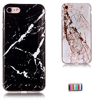 Iphone 7/8/se (2020) - Shell / Protection / Marbre