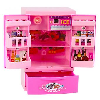 Refrigeraator Kawaii Pretend Play Mini Simulation Toy