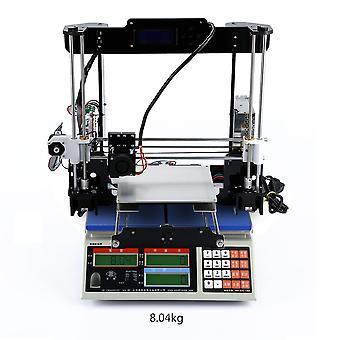 Lcd Filament Aluminium Kit Mécanique Cadre Acrylique 3D Imprimante d'impression couleur