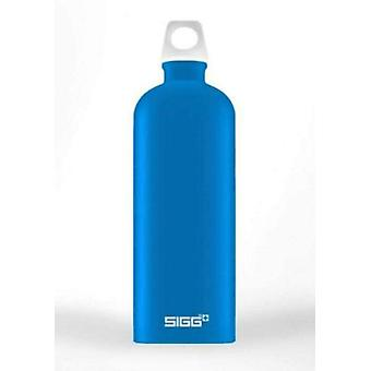 SIGG Lucid Electric Blue Touch 1L Aluminium Drinking Bottle - 8773.7