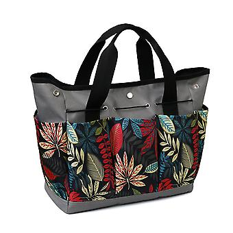 Swotgdoby متعددة الألوان طباعة حديقة التشذيب حاوية عدة، البستنة أداة تخزين حمل حقيبة