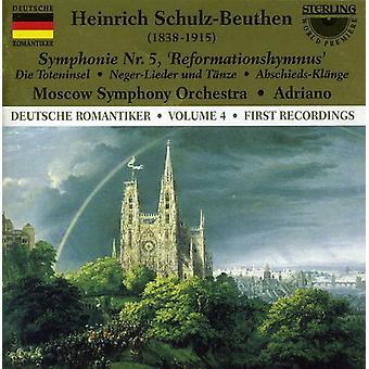 H. Schulz-Beuthen - Heinrich Schulz-Beuthen: Symphonie Nr. 5 Reformationshymnus [CD] USA import