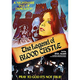 Legenden om blod Castle [DVD] USA import