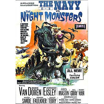 Navy Versus the Night Monsters [DVD] USA import