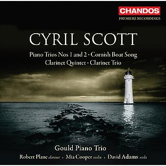 C. Scott - Cyril Scott: Piano Trios Nos 1 & 2; Korniska Boat Song; Klarinettkvintett; Klarinett Trio [CD] USA import