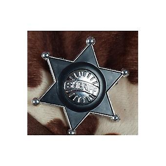 Juwelen en kronen kunststof SHERRIF ster