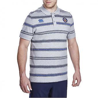 Polo di CCC Bath rugby stripe [grigio]