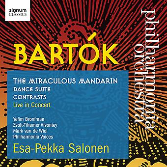 Bartok / Philharmonia Orchestra - Bartok: Miraculous Mandarin Dance Suite Contrasts [CD] USA import