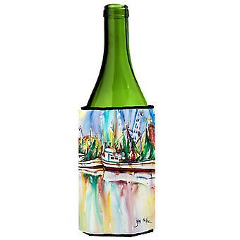 Ocean Springs camarón barcos botella de vino bebidas aislador Hugger